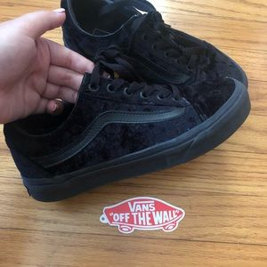 Velvet Old Skool Vans